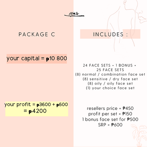 Package C #YourTypeFaceSet