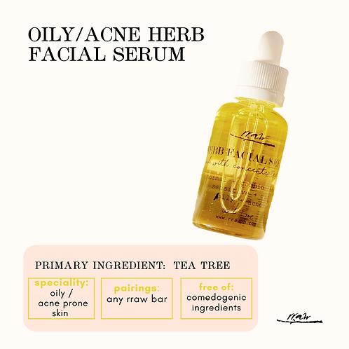 Oily / Acne Herb Facial Serum