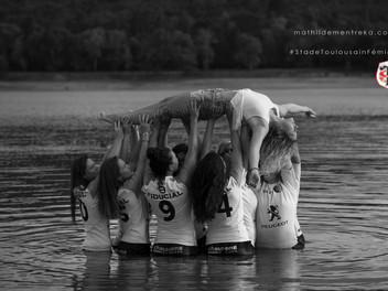 Le Stade Toulousain Féminin se jette à l'eau !