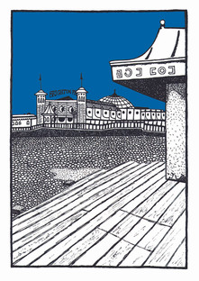 Brighton Blue Pier