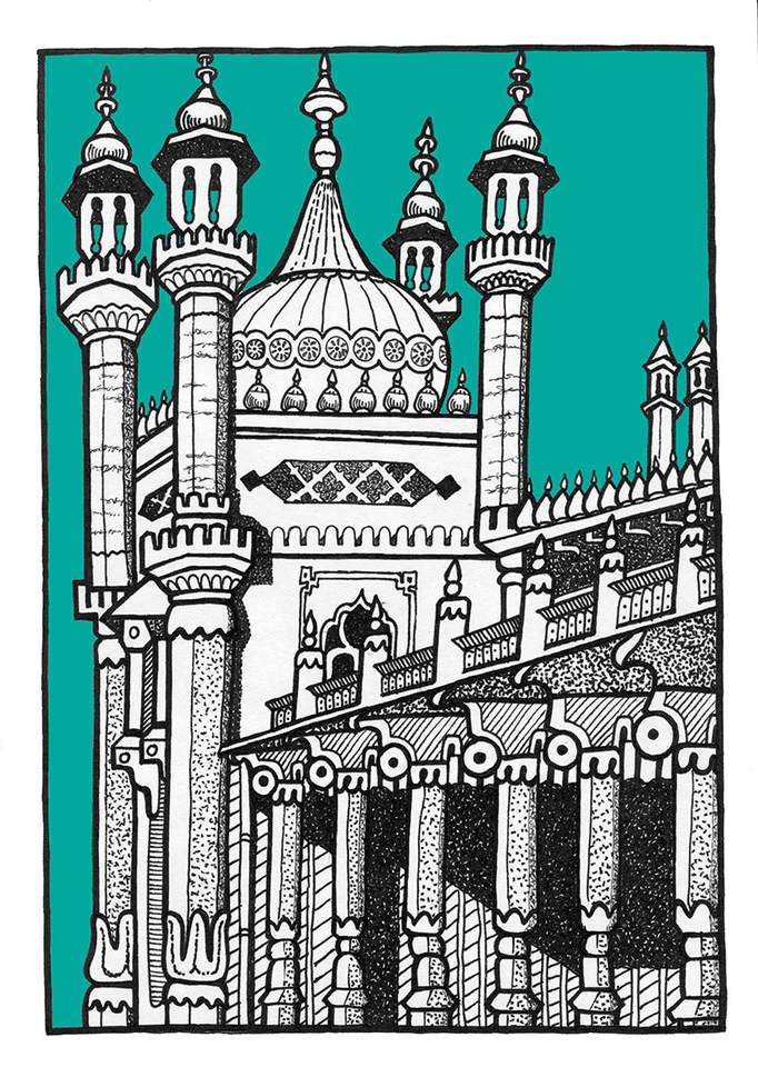 Full Brighton Pavilion