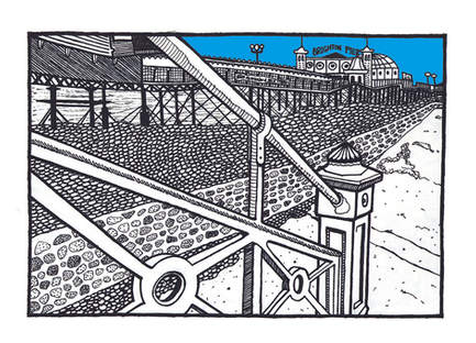 Blue Beach, Brighton