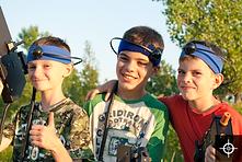 camp de jour thématique activités laser tag mobile fun
