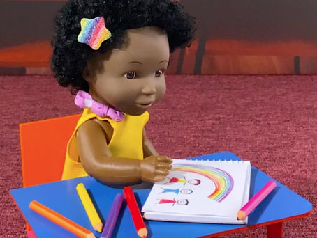 Learning African languages with the Rainbow Kids