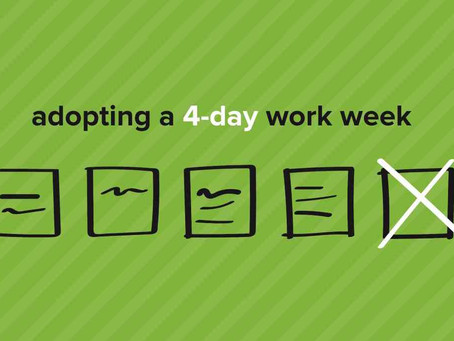 Can working 4 days a week increase productivity?