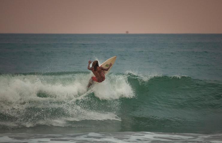 Gilbert Brown in Playa Hermosa