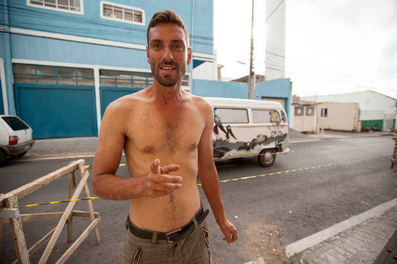 """""""My dream is to know and see my own country! Sadly, us as Brazilians have alot less value, then those people that come from outside the country. An immigrant can come to brazil and have an easy cway to a job, to a house, to a car, but we.. dont have an easy way to anything."""""""