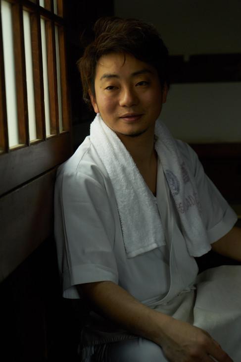 Yoshihiro Hiraoka at Kamachiku