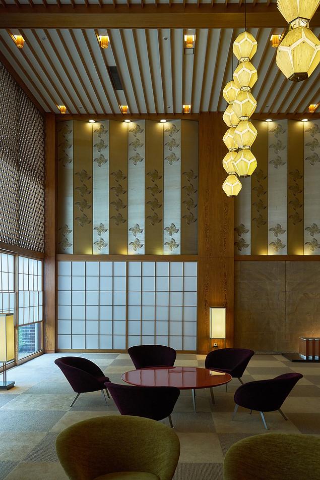 Hotel Okura, Lobby