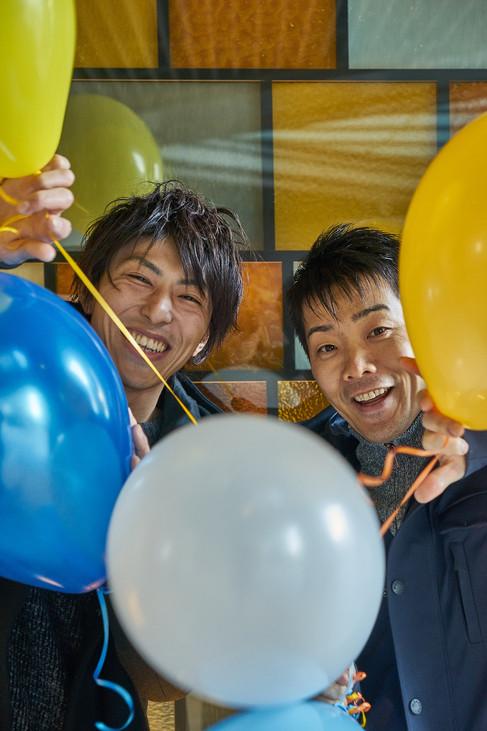 Kotaro Meguro and Shuzo Kishida