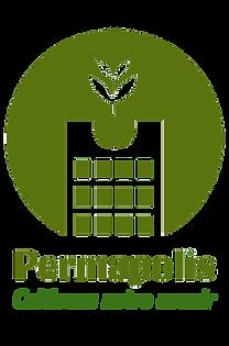 Permapolis logo SANS BLANC avec slogan p