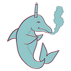 Hidden dolphin drawing