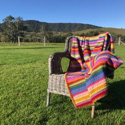 Cosy Stripe Blanket