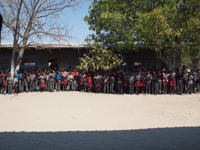 The Children and Staff of the Malangu School