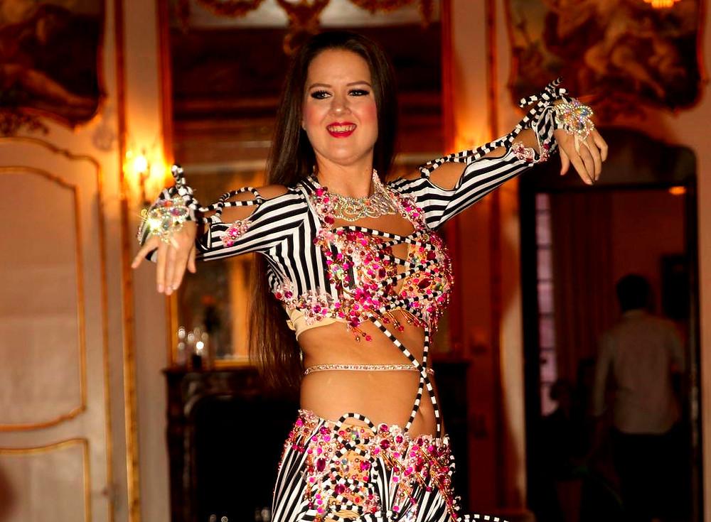 magdansshow, magdansös, bröllop, underhållning