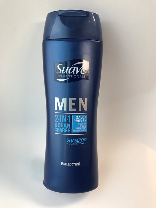 Suave MEN 2-IN-1 Shampoo + Conditioner