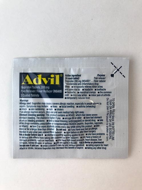 Advil 200 mg.