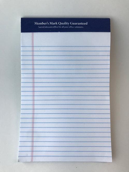 Junior Legal Writing Pad