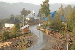 A sawmilling village