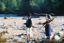 The Naruja river bed, Vrancea, 2004