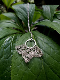 Cerridwen - Fine Silver Pendant