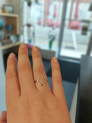 Luck Ring - Eco Sterling Silver