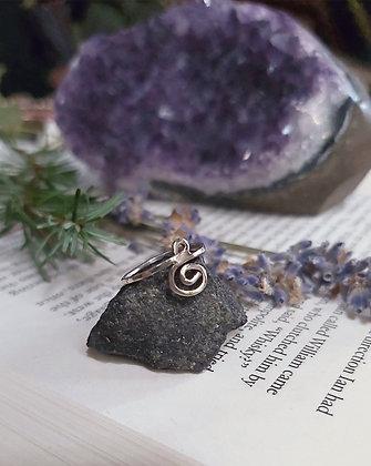 Spiral Knuckle Ring