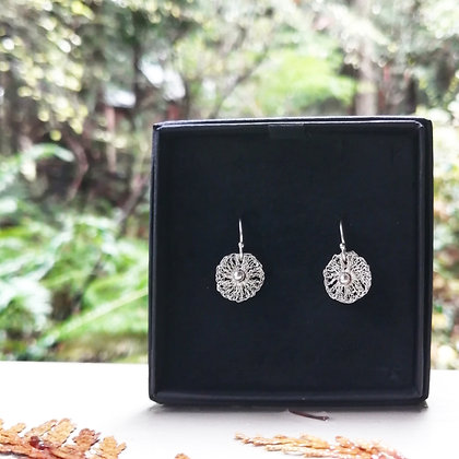 Unicus Fine Silver Earrings Medium