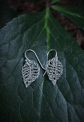 Fine Silver Leaves