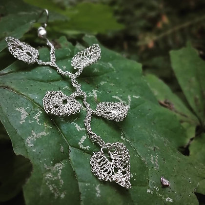 Dancing Leaves Statement Earring