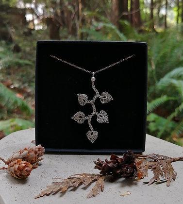 Dancing Leaf pendant