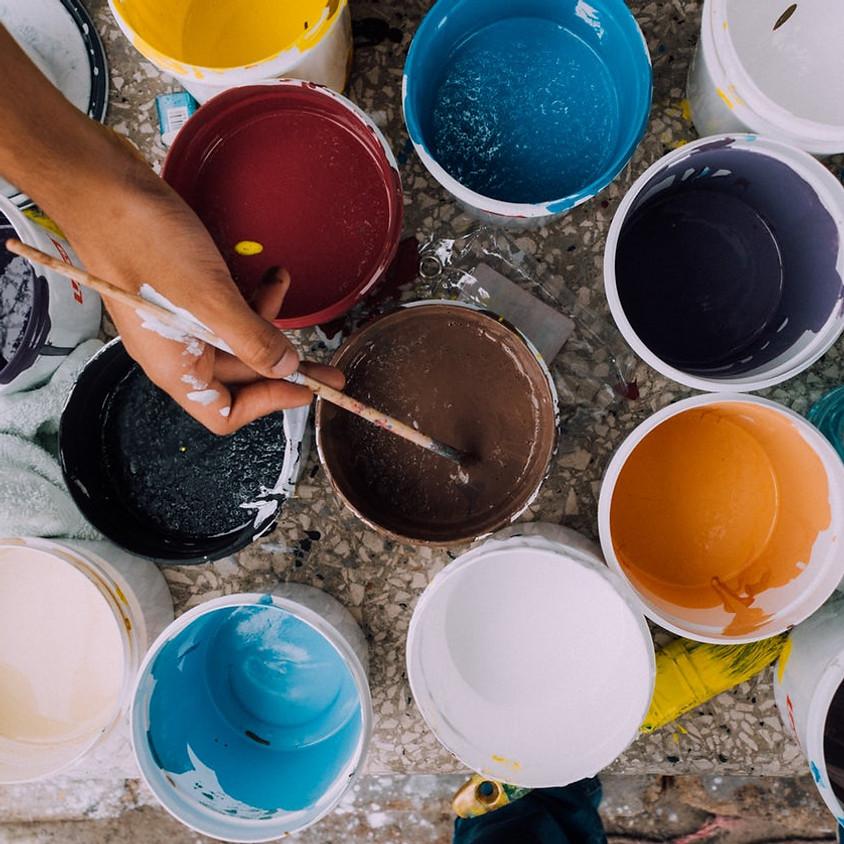 Paint & Pour at Alpenglow
