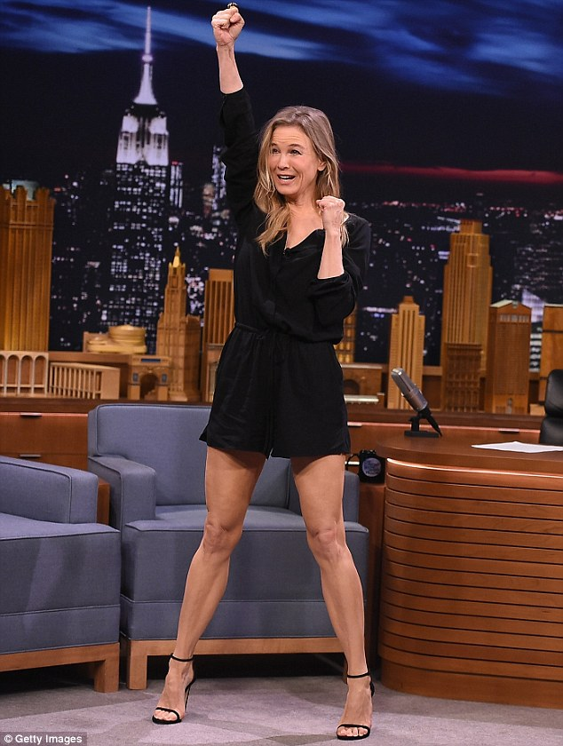 Renee Zellweger on Jimmy Fallon
