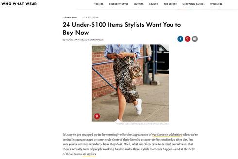 24 under $100 items