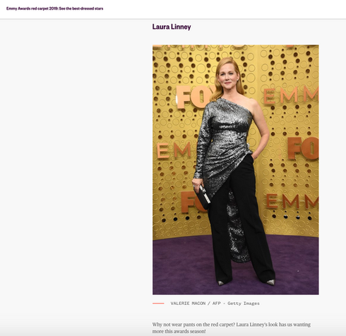 Best Dressed Emmy's 2019 - Today