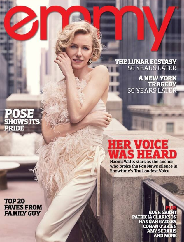 Emmy Magazine, Naomi Watts
