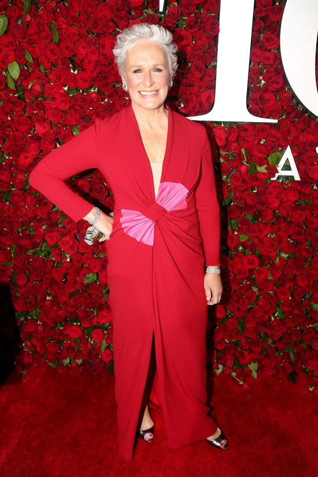 Glenn Close at the Tony Awards 2016