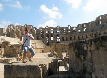 Al Dżamm – śladem gladiatorów