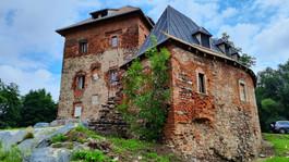 Zamek w Witkowie. Jego rycerze wsparli Krzyżaków pod Grunwaldem