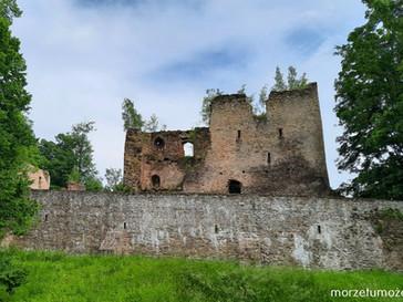 """Zamek """"Miecz"""" w Świeciu. Jak czeski błąd zrobił z niego twierdzę Krzyżaków."""