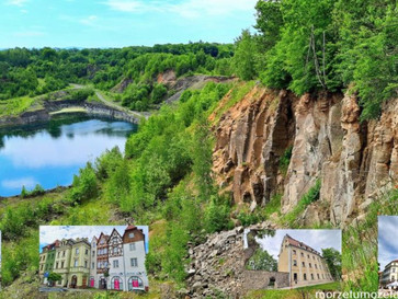 Lubań, Kamienna Góra i bazalty