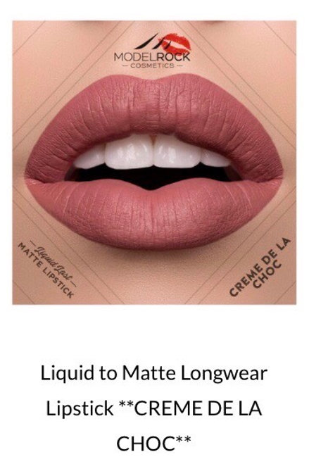 Liquid to Matte Longwear Lipstick ** CREME DE LA CHOC **