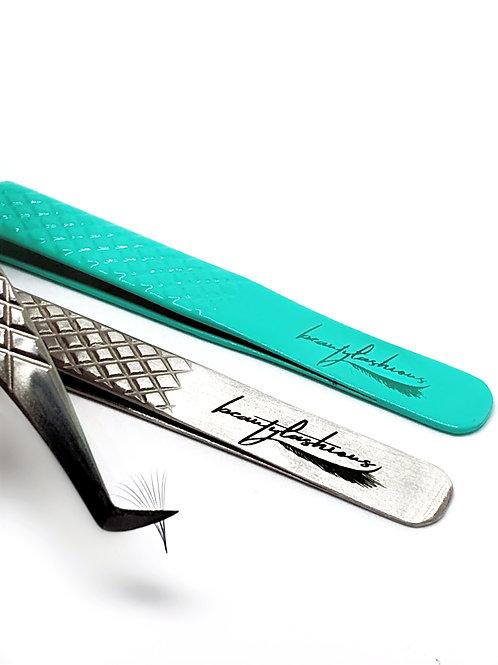Beautylashious Tweezer Kit w/ Magnetic Case