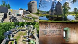 Zamek Wleń i wieża książęca w Siedlęcinie