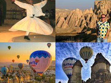 Wirująca Anatolia: Bazooka, derwisze i lot nad Kapadocją