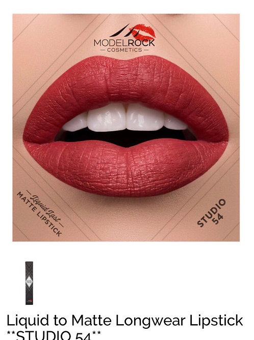 Liquid to Matte Longwear Lipstick ** STUDIO 54 **