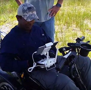 swamp apes veteran learning to fly a drone for python hunting in the florida everglades