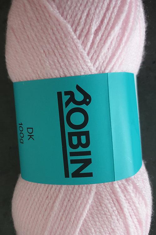 Robin DK Pink  Knitting Yarn