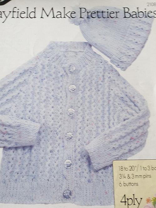 Pre-loved Hayfield Make Prettier Babies Knitting Pattern