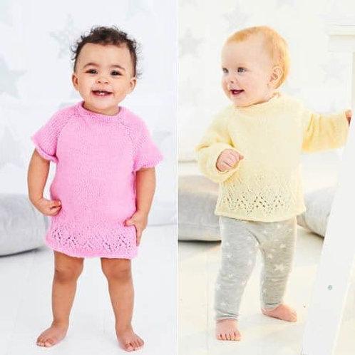 Stardust Baby Double Knit  Pattern 9524